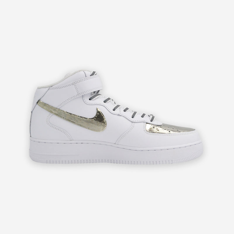 Customized Air Force 1 Mid Metal