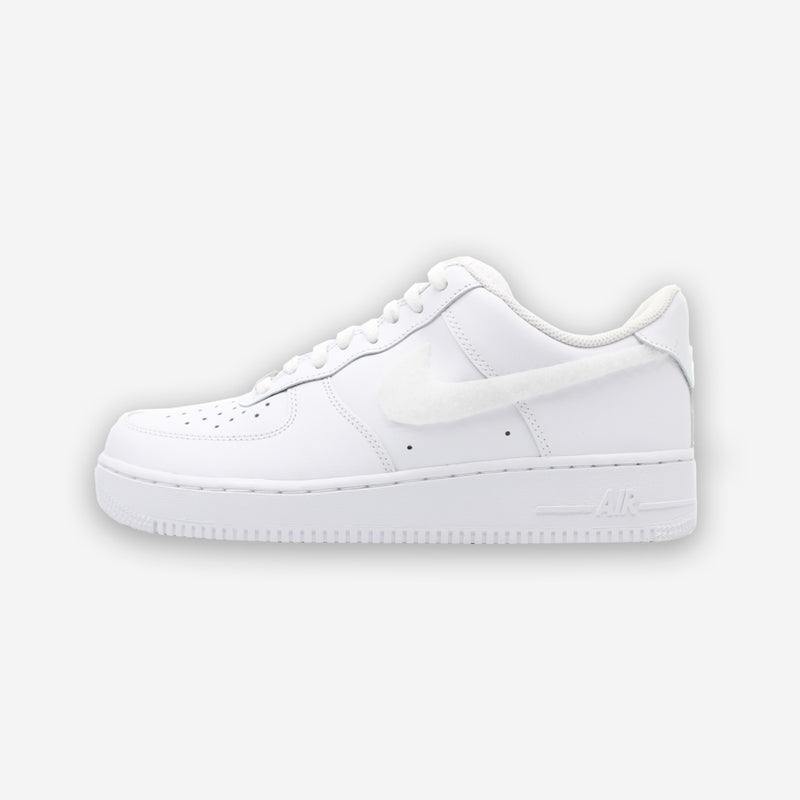 Customized Air Force 1 Sean Drip Swoosh Patch