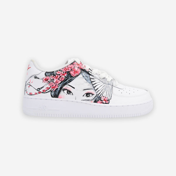 Customized Air Force 1 Geisha