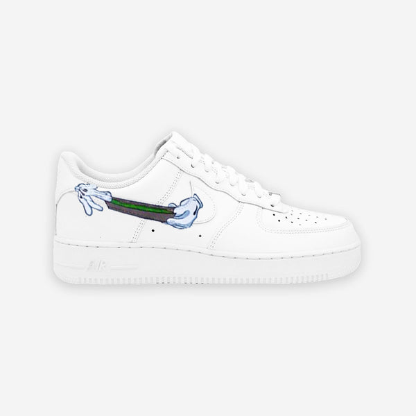 Customized Air Force 1 Blunt Swoosh