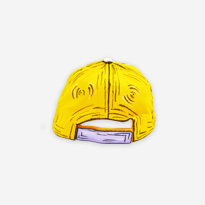 Customized Cap Cartoon Sketched