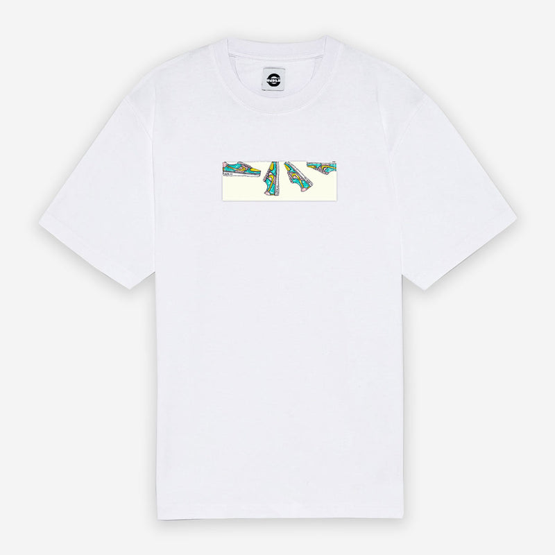 Customized T-Shirt Box Logo Nike Cartoon Sketched