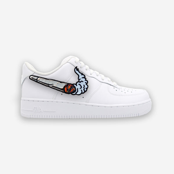 Customized Air Force 1 Cigarette Swoosh Patch