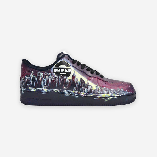 Customized Air Force 1 UnderG City Signal