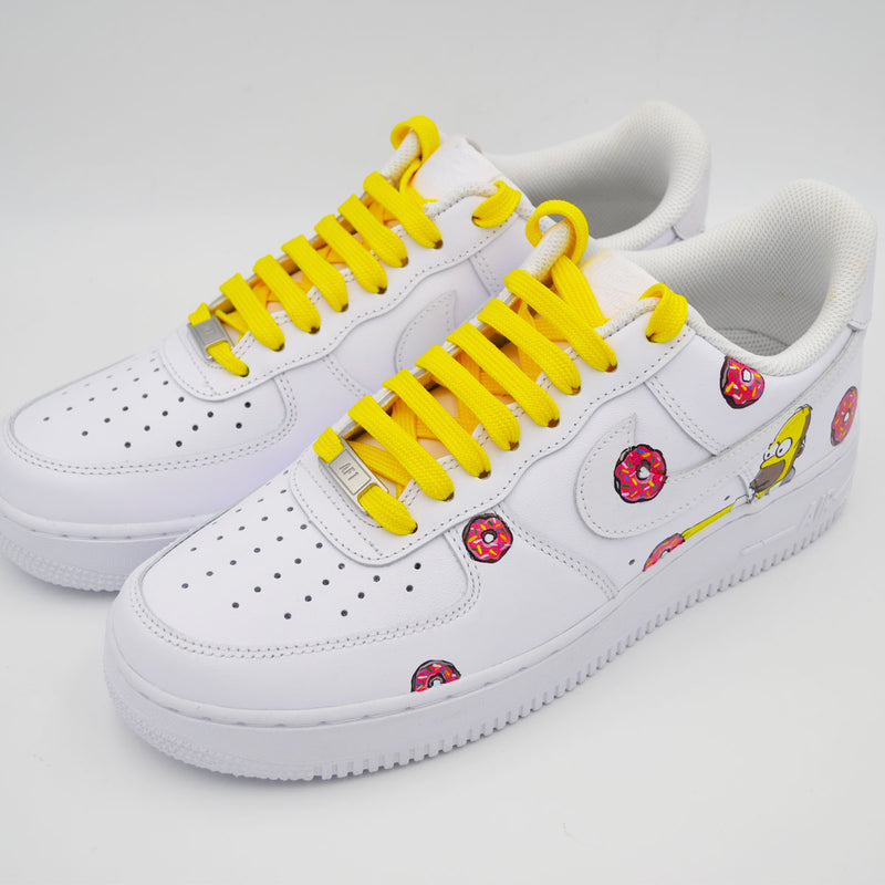 Customized Air Force 1 Homer S.