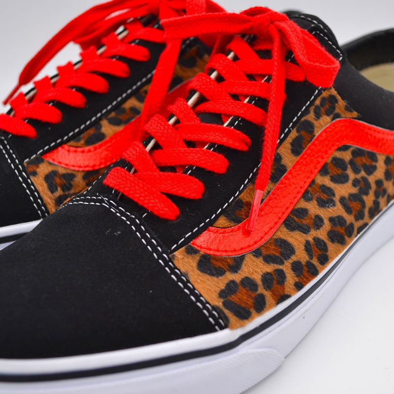 Customized Old Skool Leopard