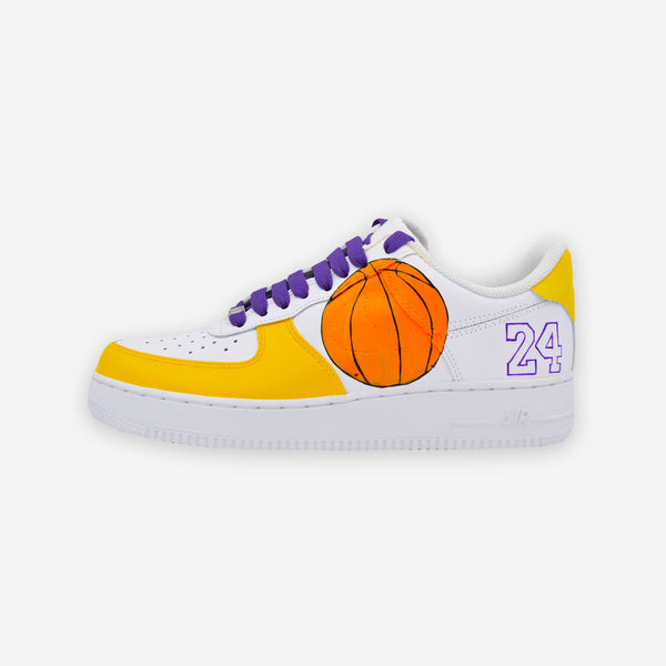 Customized Air Force 1 Kobe Tribute