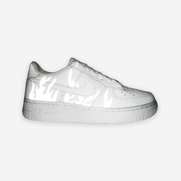 Customized Air Force 1 Reflective Flamez