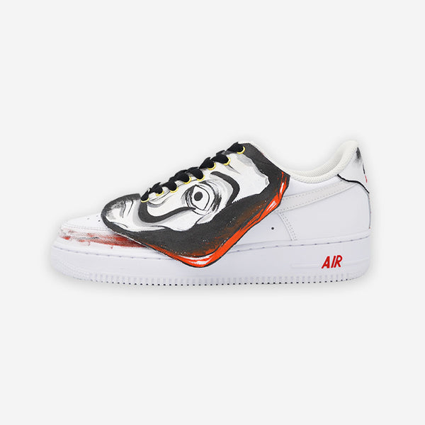 Customized Air Force 1 La Casa de Papel Professor