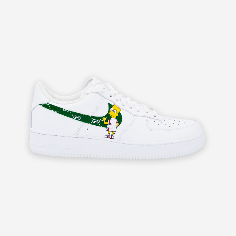 Customized Air Force 1 Bart Gucci