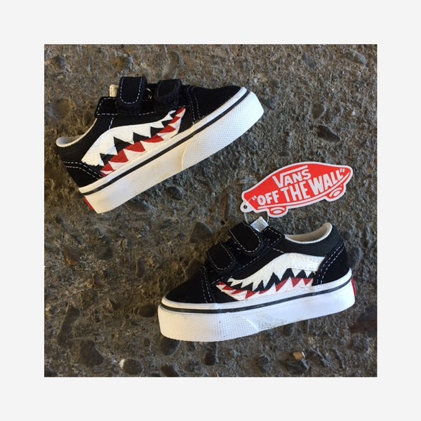 Kids Old Skool Baby Shark