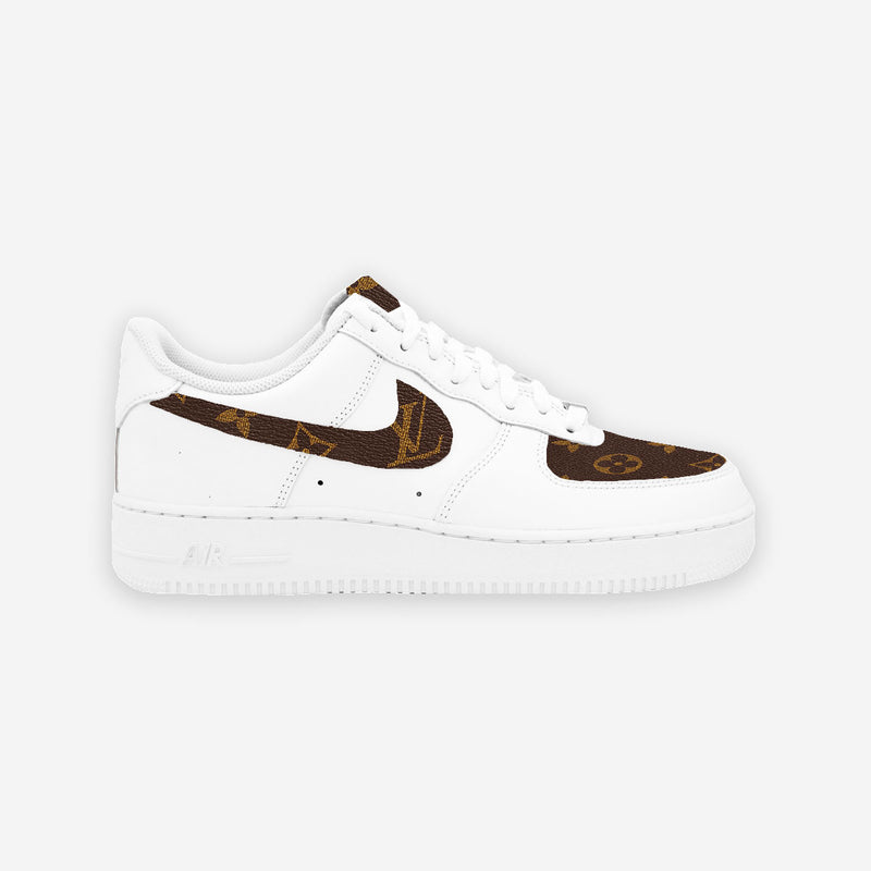 Customized Air Force 1 LV Monogram