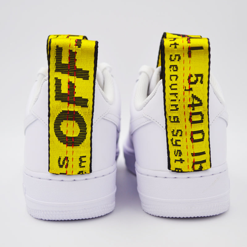 Customized Air Force 1 Off Belt