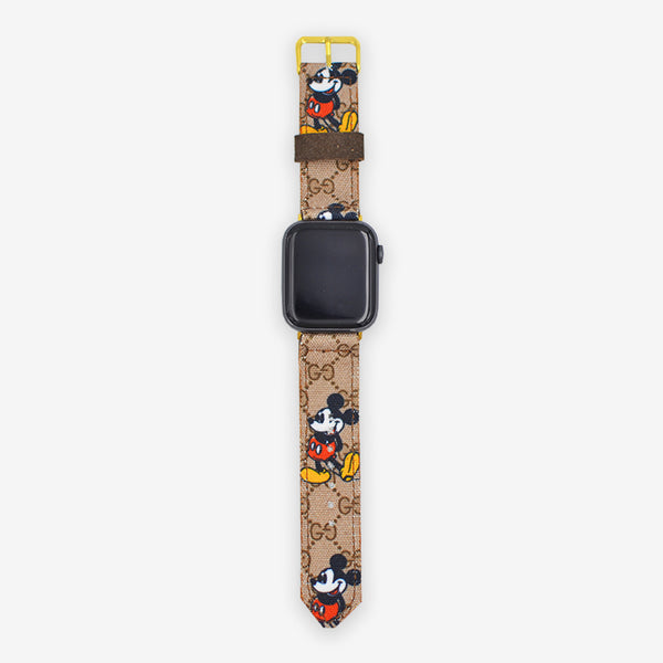 Customized Apple Watch Mickey Mouse Gucci