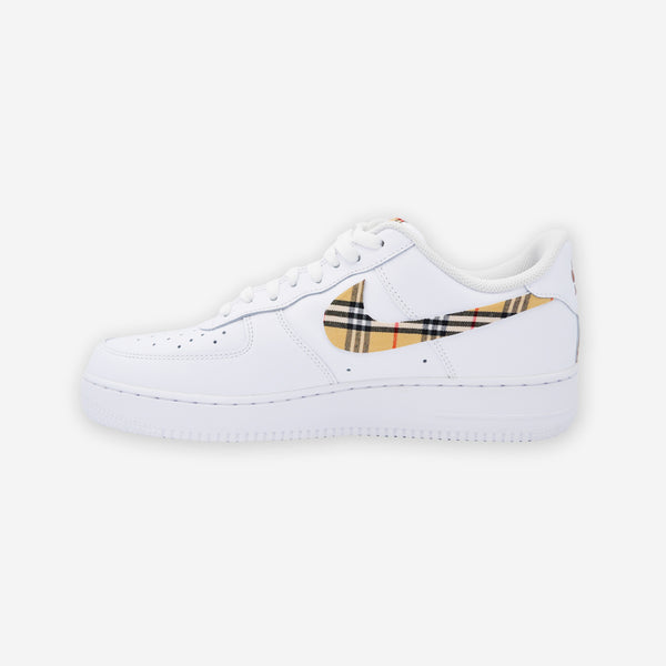 Customized Air Force 1 Check Pattern