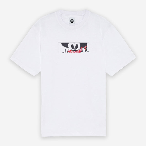 Customized T-Shirt Box Logo Mickey Mouse Bandana