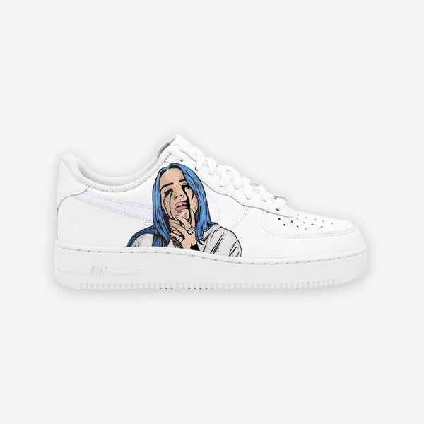 Customized Air Force 1 Billie Eilish