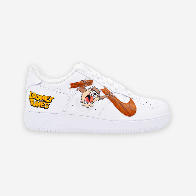 Customized Air Force 1 Looney Tunes Taz