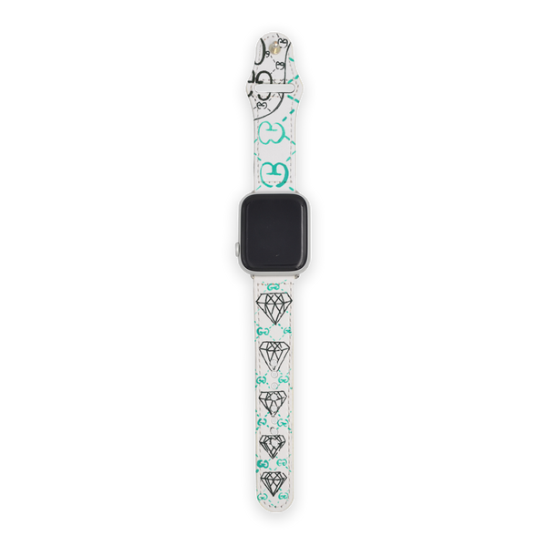 Customized GG Ghost Trouble Andrew Apple Watch Band
