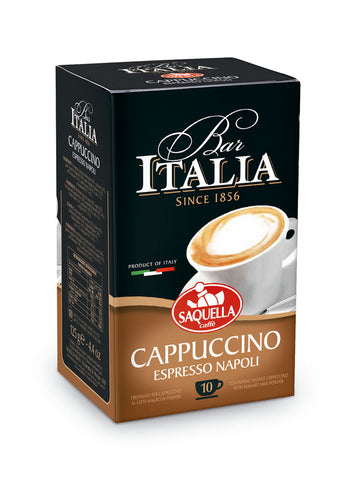 Cappuccino Bar Italia - BOX x 10 Single Dose 12,5 gr. Bags
