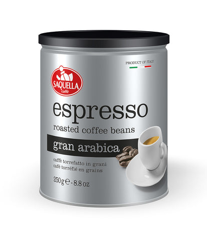 Espresso Gran Arabica - Whole Beans 250 gr. Tin