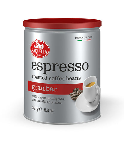 Espresso Gran Bar - Whole Beans 250 gr. Tin