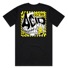 Load image into Gallery viewer, LO'99 ACID COVER T-SHIRT (BLACK)