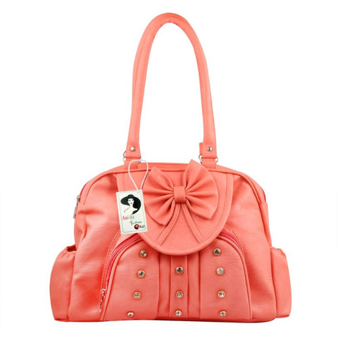 Women's Regular Size PU Hand-held Bag