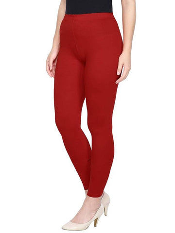 Ankle length lycra cotton leggings