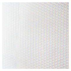 Clear, Dbl-rolled, Irid, Patterned, 1/8 sheet