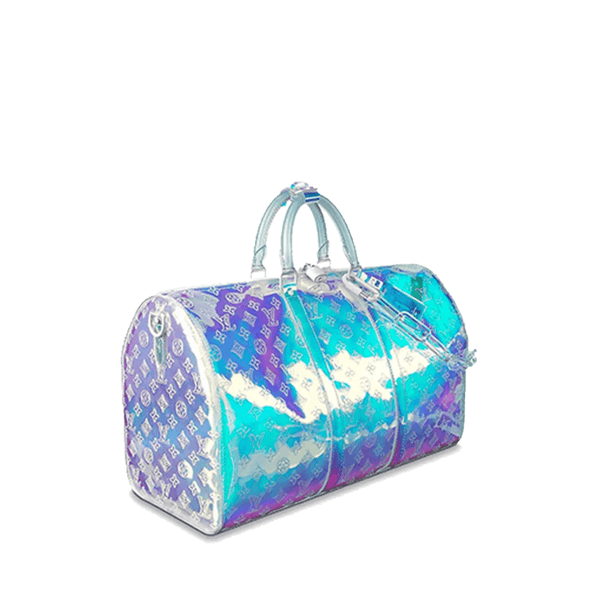 Keepall Prism Monogram Bandouliere 50 Iridescent