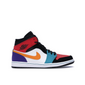 Jordan 1 Mid Bred Multi-Color
