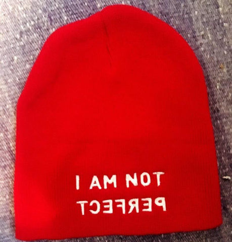 I Am Not Perfect Beanie