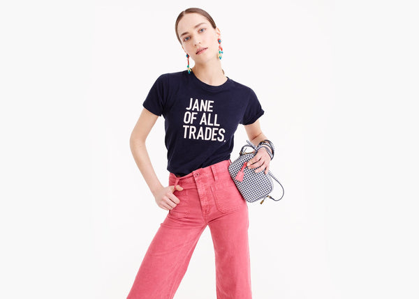 prinkshop x J.Crew: Jane Of All Trades Tee