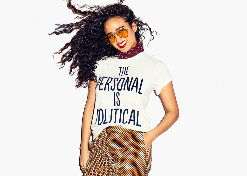 The Personal is Political : Unisex Affirmation Tee