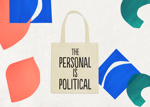 The Personal is Political: Market Tote
