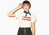 I Am Not Perfect : Unisex Affirmation Tee