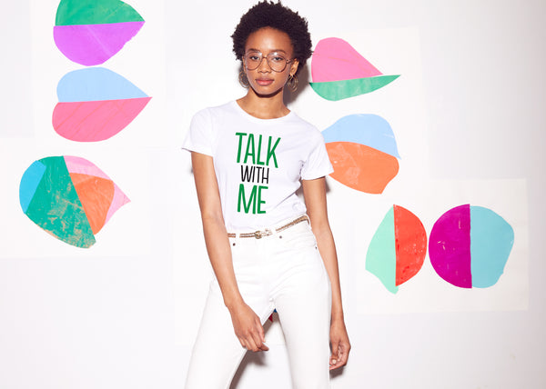 prinkshop x Seeds of Peace : Talk With Me Affirmation Tee