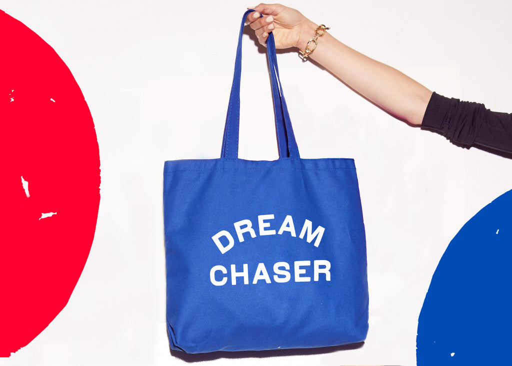 DREAM CHASER: Advocacy Tote - prinkshop x Special Olympics