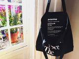 You See A Girl: Advocacy Tote - Black
