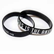 Load image into Gallery viewer, Jesus Is The Answer Wristbands