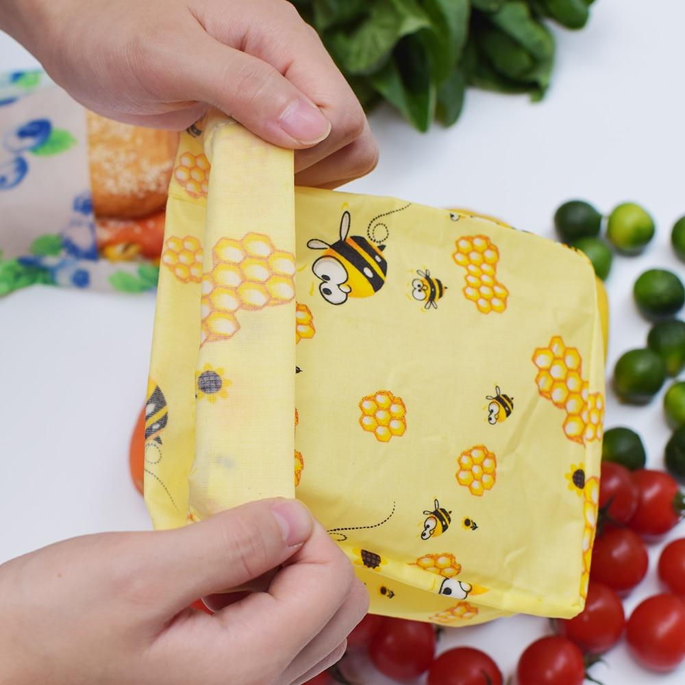 Reusable Beeswax Food Bags - EcoSpurs