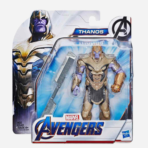 Marvel Avengers: Endgame Thanos 6 Inch Collectible Action Figure For Kids