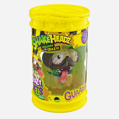 Shakeheadz Crazy Pets Snotty Scout Toy For Kids