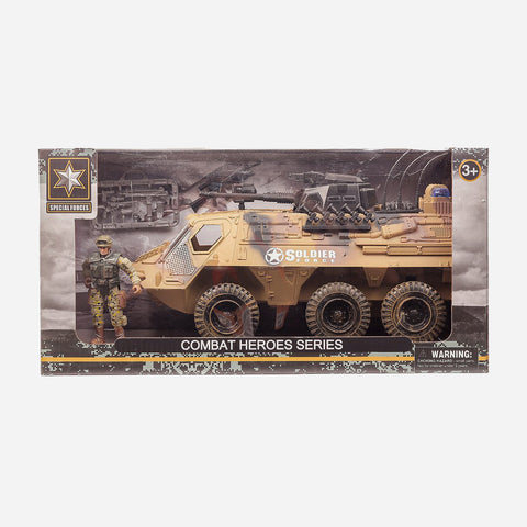 Soldier Force Combat Hero Series Vehicle Toy For Boys