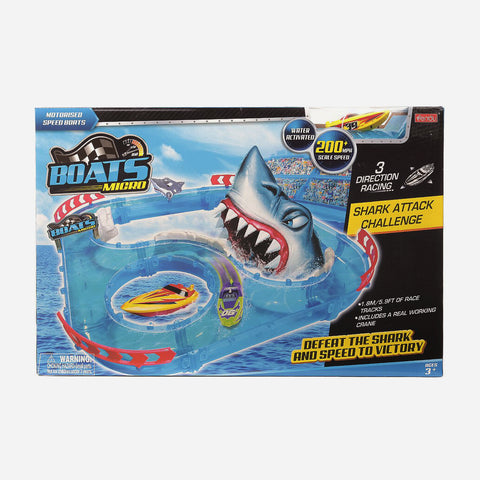 Boats Micro Playset For Kids