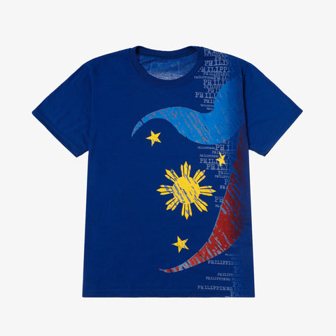 Halu Halo PH Flag Inspired Graphic Tee