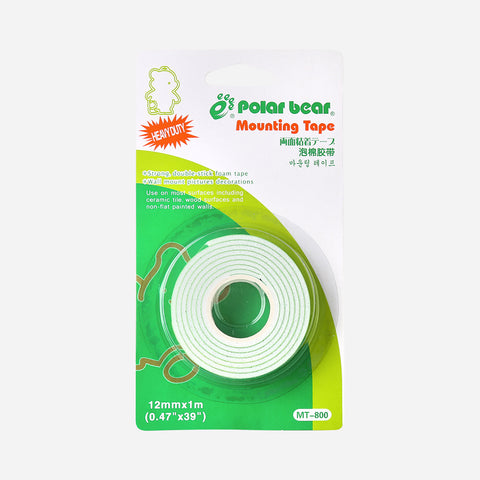 Polar Bear Double Side Foam Tape 12mm x 1M