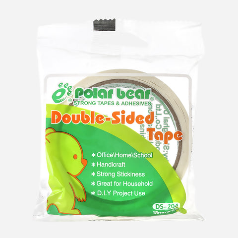 Polar Bear Double Sided Tape 18mmx10M