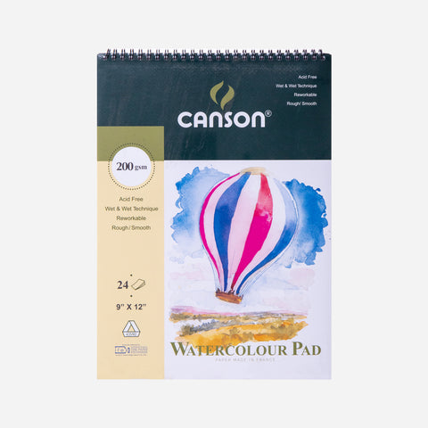 Canson Watercolour Pad 24 Sheets
